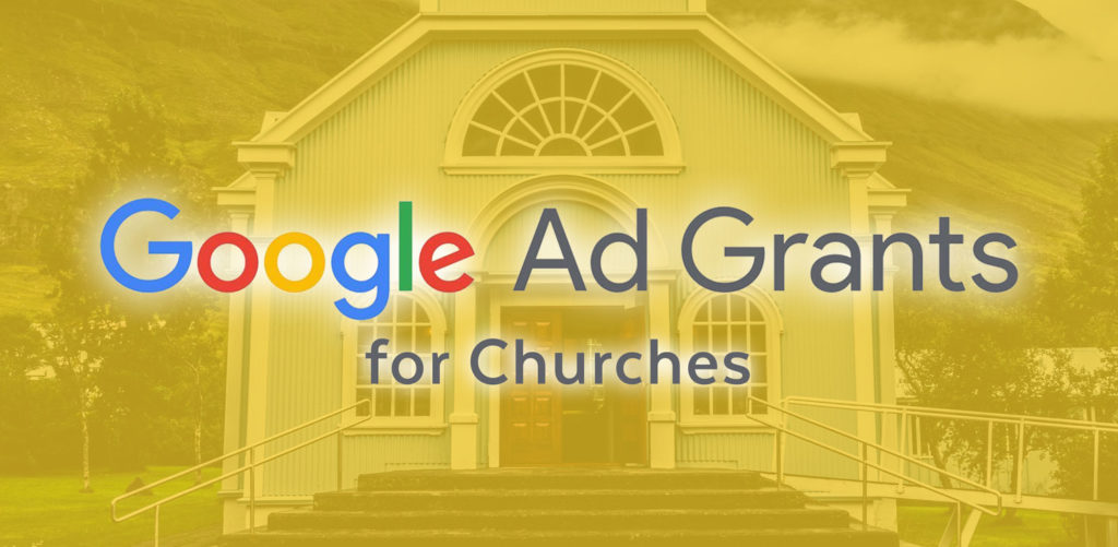 church guide to google ad grants